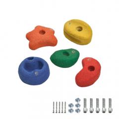 Pietre de cățărare 90mm, colorate